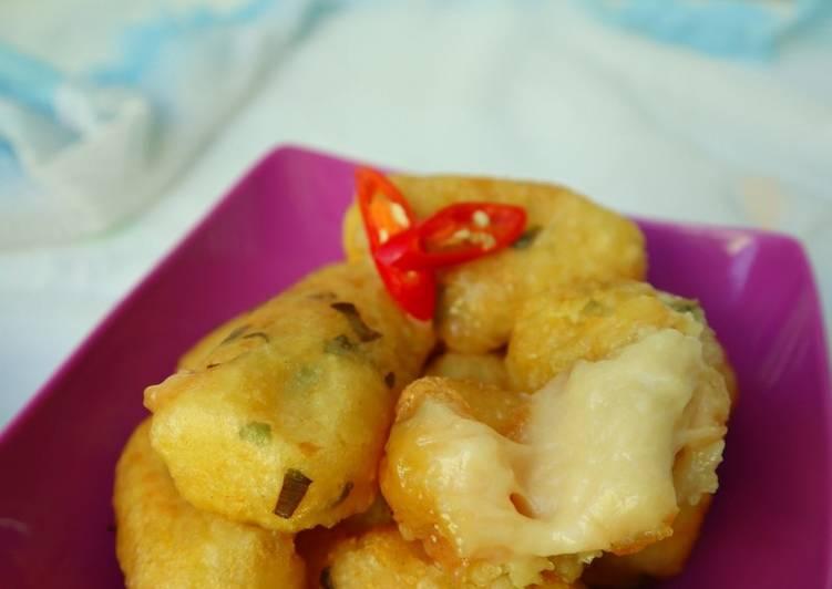Kentang Mozarella Homemade