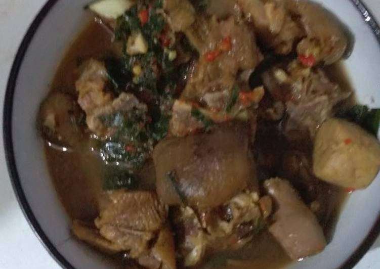 Simple Way to Make Award-winning Goat meat pepper soup