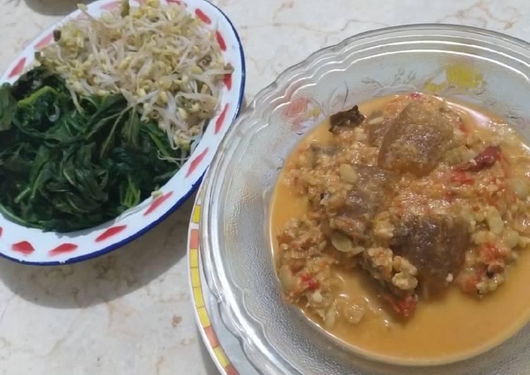 Sambal tumpang kikil sapi + step by step