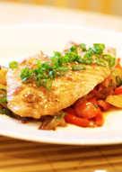 filete de pescado a la plancha para dieta