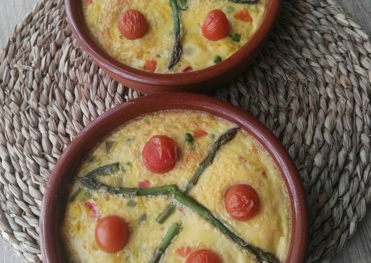 Arroz con costra vegetariano