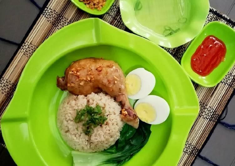 Nasi Ayam Hainan Magic Com