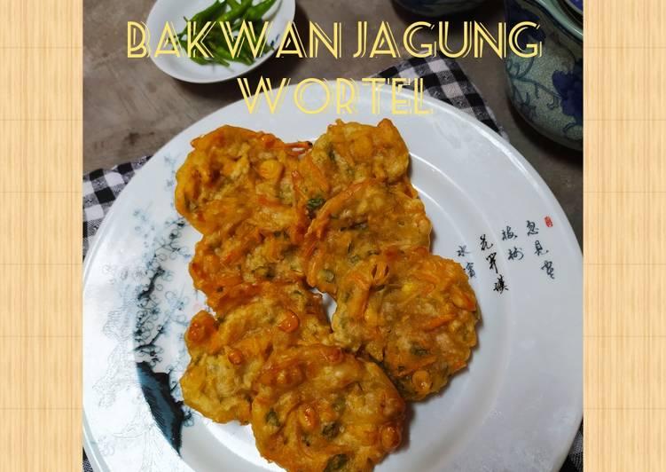 Bakwan Jagung Wortel (kress kriuk, gluten free) #41