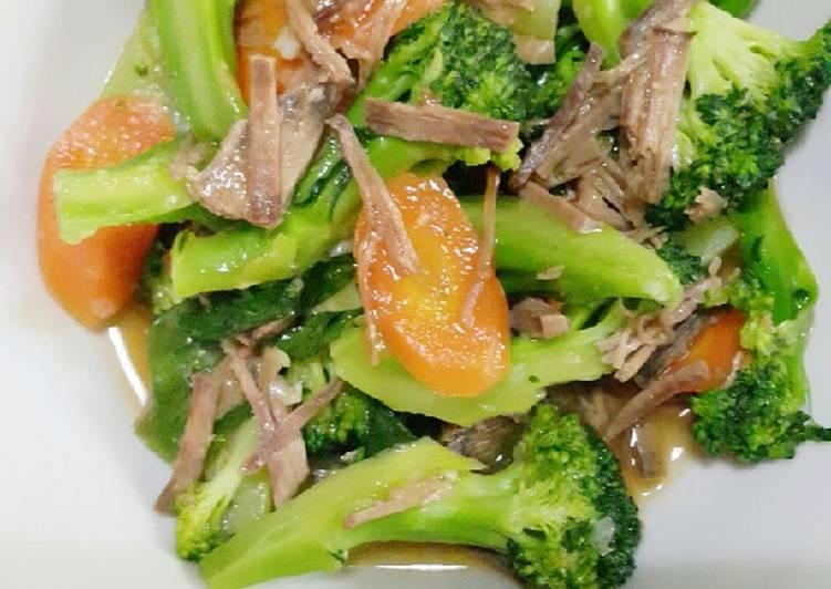 Brokoli suwir