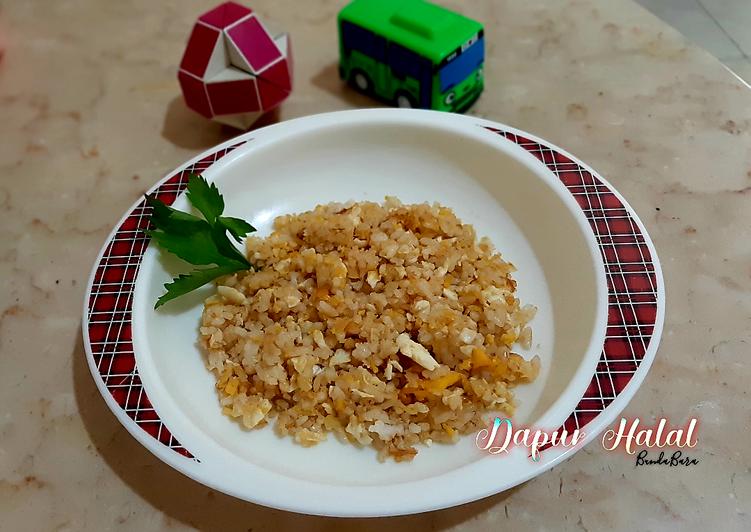 How To Cook Tasty Nasi Goreng Telur Bebek Blueband Mpasi 15 Bumbu Racik
