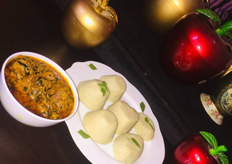 Step-by-Step Guide to Prepare Perfect Pounded yam and egusi soup