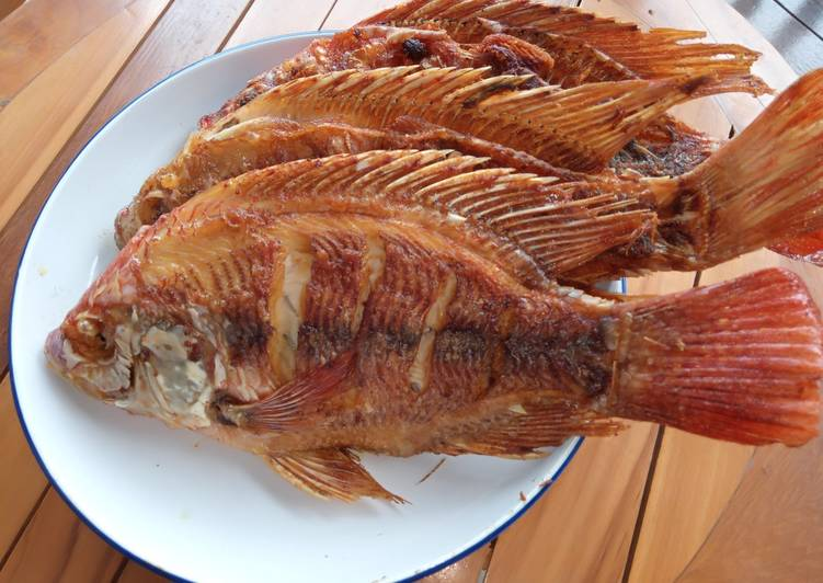 Ikan Nila Goreng Marinasi Ala Chef Rudy Choirudin