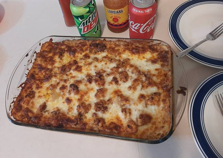 Delicious Italian Lasagna With Bechamel Sauce