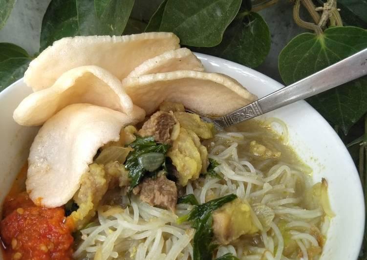 Bihun Soto Daging