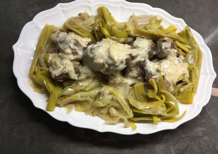 recette Notre sauté de veau à l'étouffée délicieux