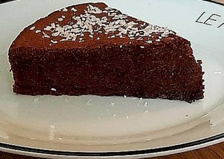 Moelleux au chocolat noir ss MG et ss farine