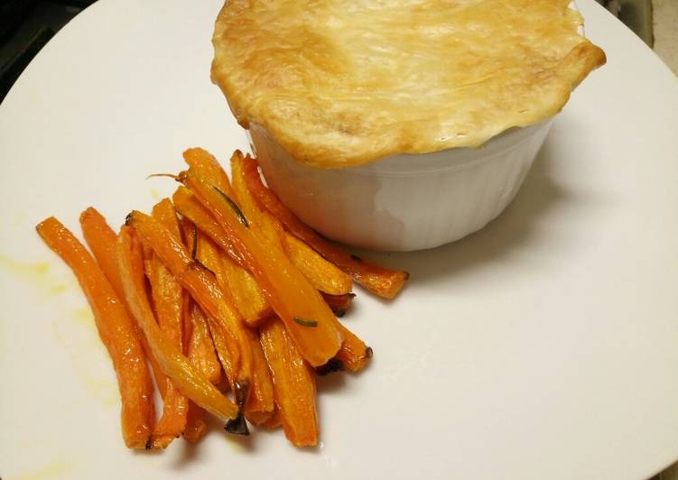 Fluffys Mince And Potato Pie Recipe By Miss Fluffys