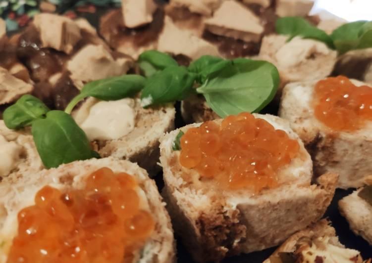 Le moyen le plus simple de Faire Appétissante 🌺 * Roulés fromage aux herbes et oeufs de saumon