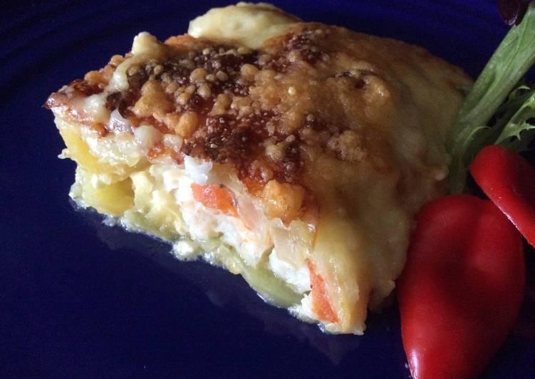 Simple Way to Prepare Speedy Bake Fish Au Gratin