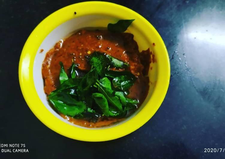 Recipe of Perfect Smokey Chilli Garlic Chutney