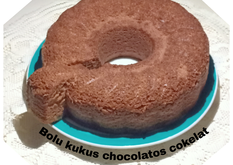 Bolu kukus chocolatos cokelat