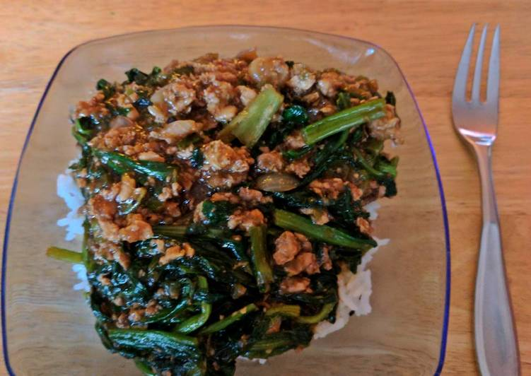 Chicken, Spinach Rice Bowl