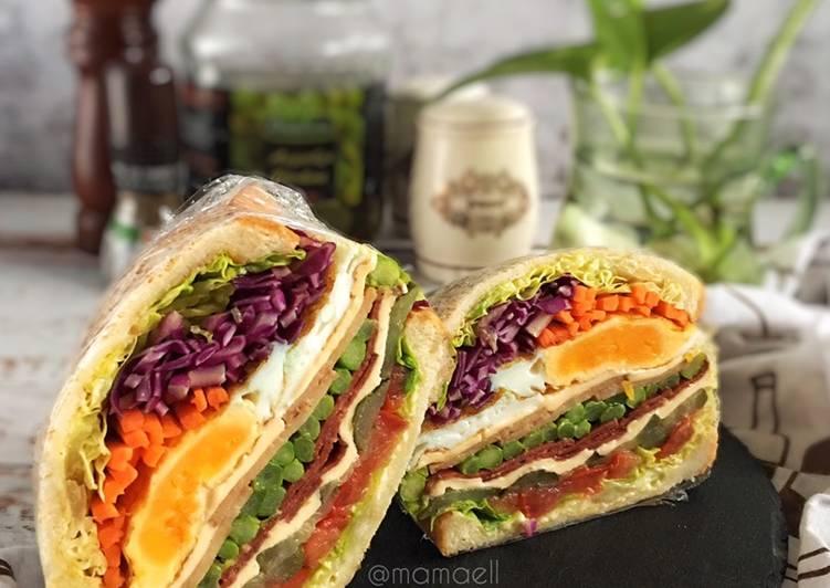 Resepi:  Wanpaku Sandwich mamaell :my personal choice😊  2021