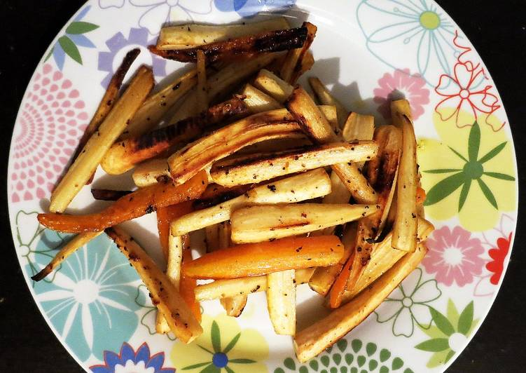 Easiest Way to Prepare Speedy Oven grilled parsnips