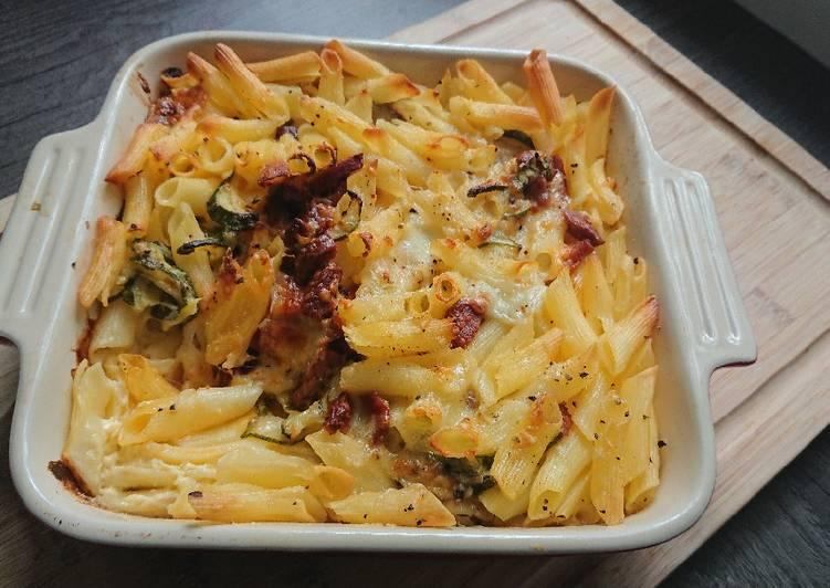 Recipe: Perfect Mozzeralla pastabake