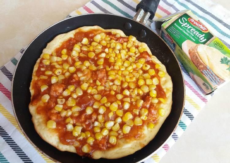 Pizza teflon, pizza goreng simple