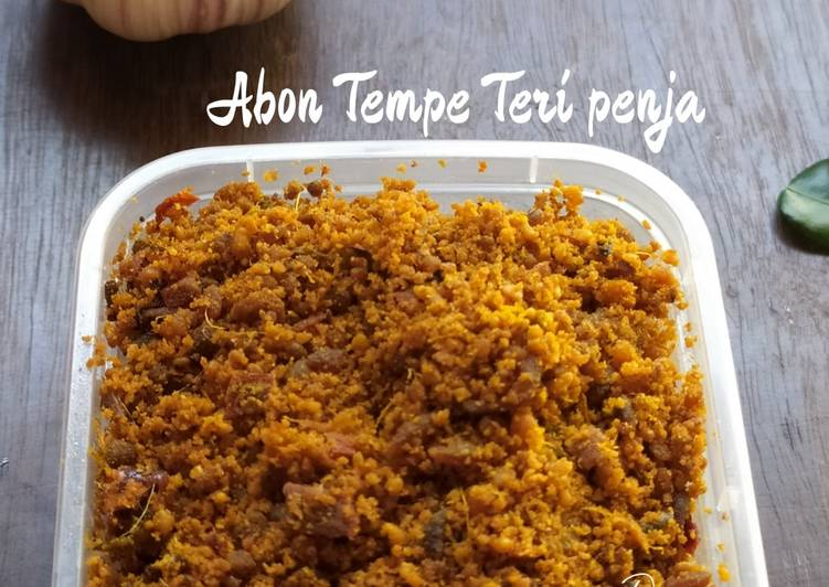 Resep Abon Tempe Teri Penja Oleh Devi Aini Cookpad