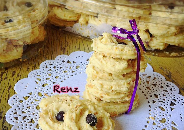 Resep Kue sagu keju Anti Gagal