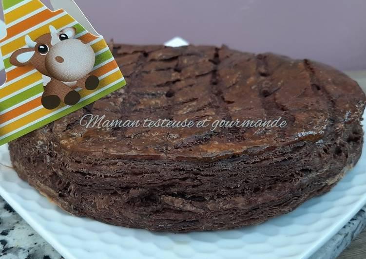 recette Galette 100% chocolat délicieux