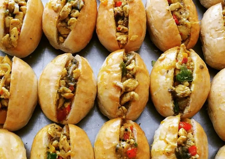 Steps to Make Most Popular Mini savoury buns