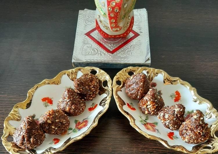 Dry fruit modak