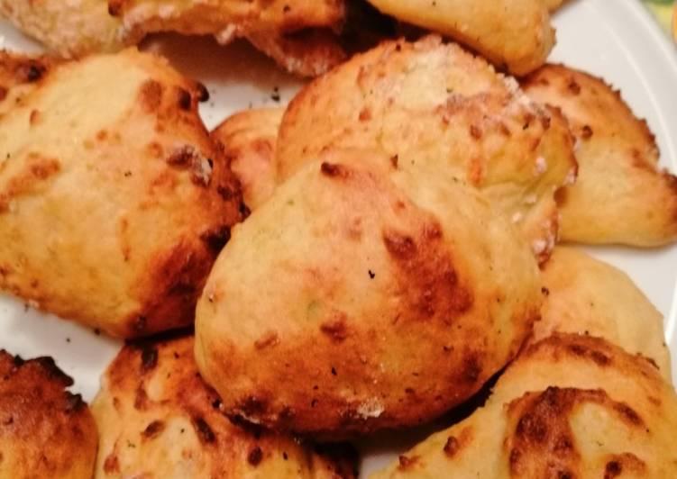 Crocchette di purè (ricicliamo) e cottura patate al microonde
