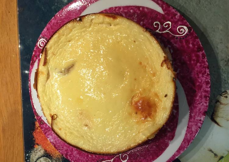Comment faire Cuire Appétissante Cheese cake léger aux pommes