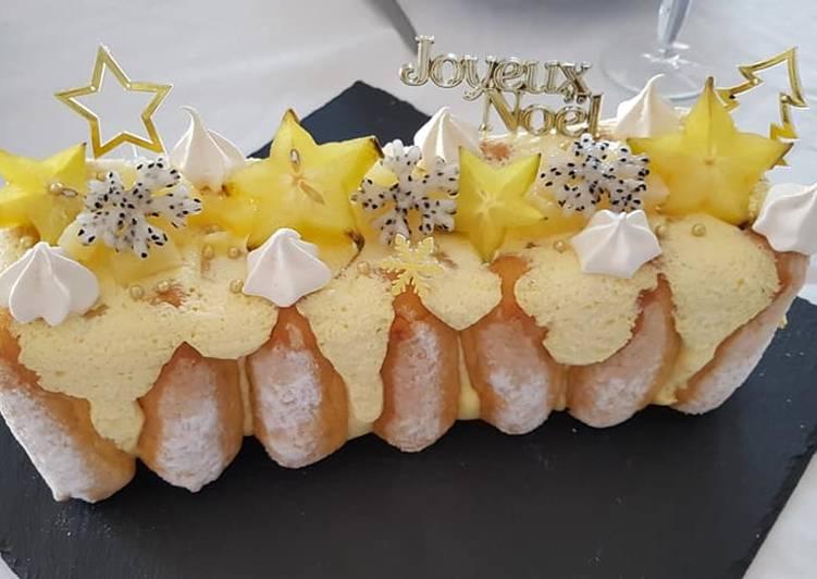 Les 8 Meilleures Recettes de Buche mangue /ananas