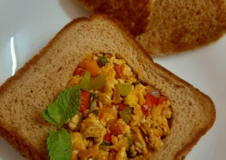 Egg masala toast 😍