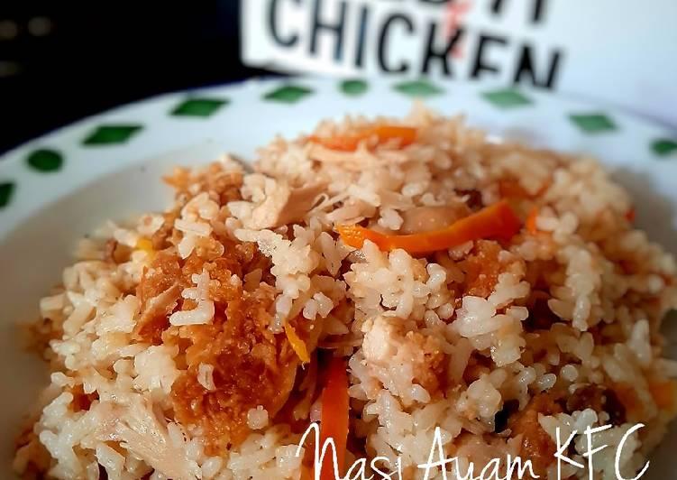 Cara Muda Membuat Persiapan Selera Nasi Ayam Kfc Ricecooker