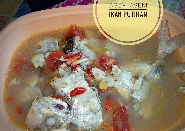 Resep Asem Asem Ikan Putihan Oleh Dini Santi Cookpad