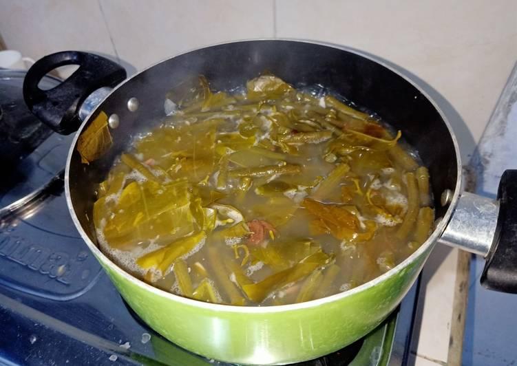 Sayur asam masakan keluarga, alay mas fay