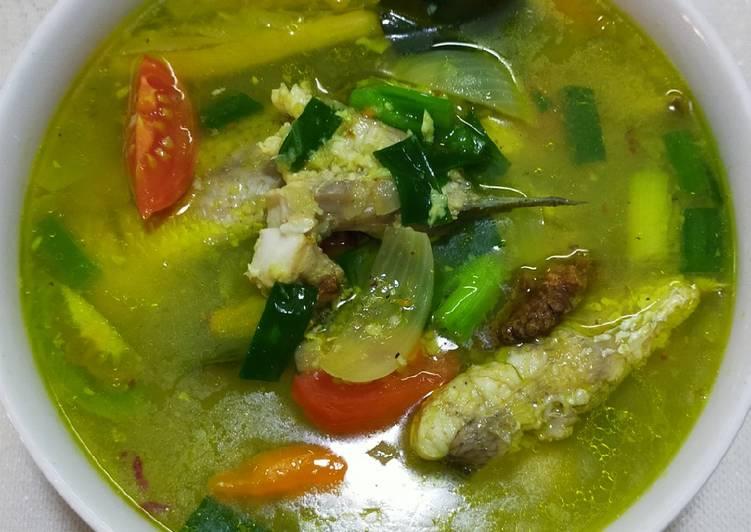 Sup Ikan Kakap Segar