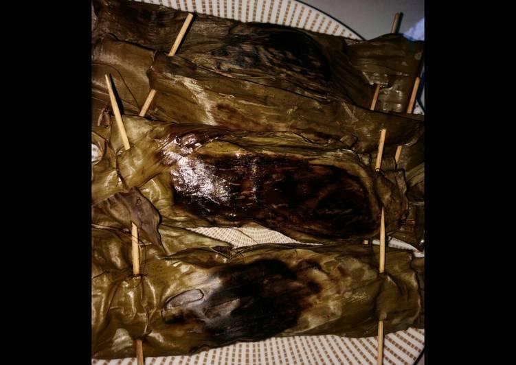 Pepes ikan laut dadakan