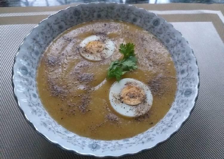 Mix Vegetables Soup#Theme Challenge
