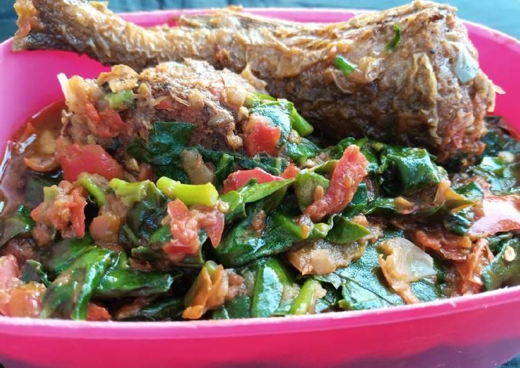 Spinach stew