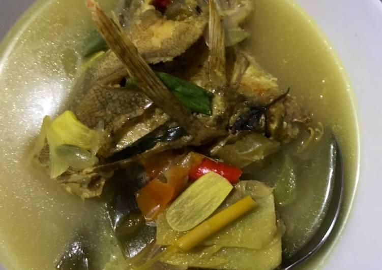 Kuah Asam Ikan Kerapu (No Oil) Menu Diet Hari ke-9