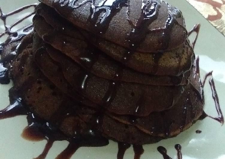 Pancake Cokelat Praktis Anti Gagal