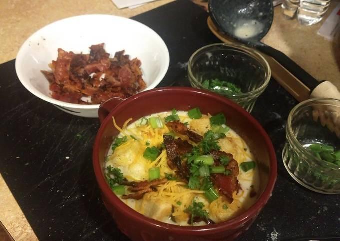 Loaded potato soup instant pot ip