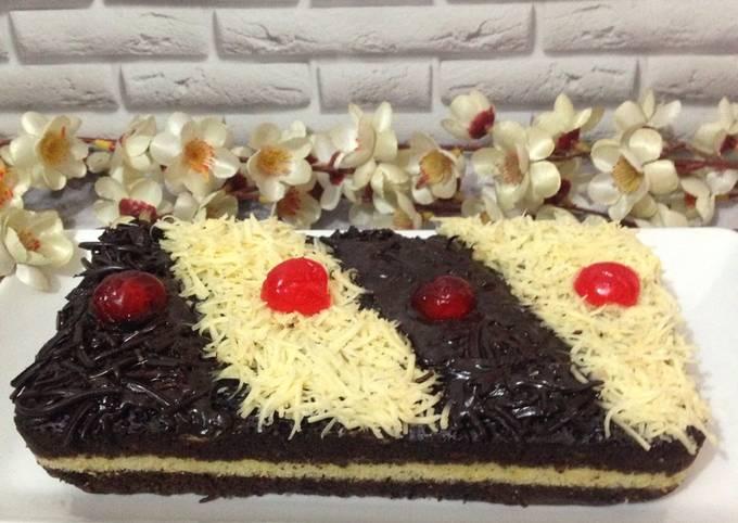 Brownis kukus coklat keju