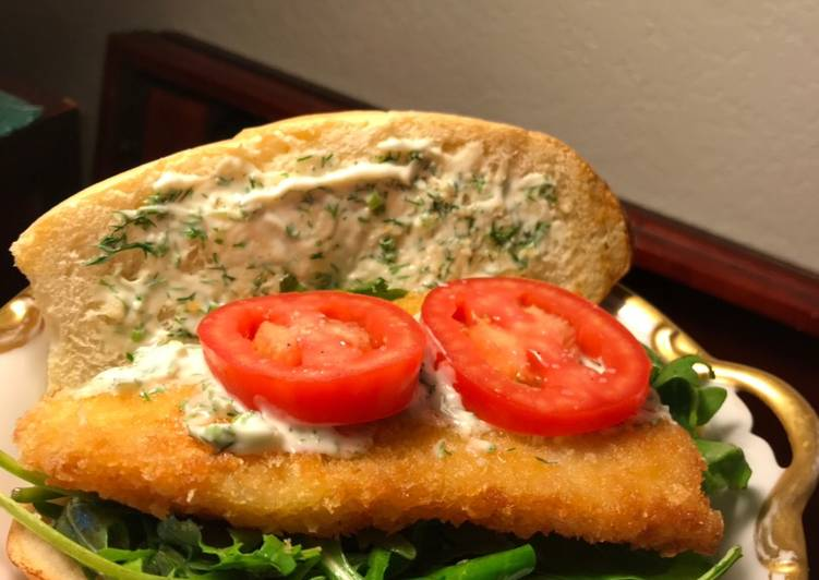 Recipe: Yummy Shaanka Fish Sandwich