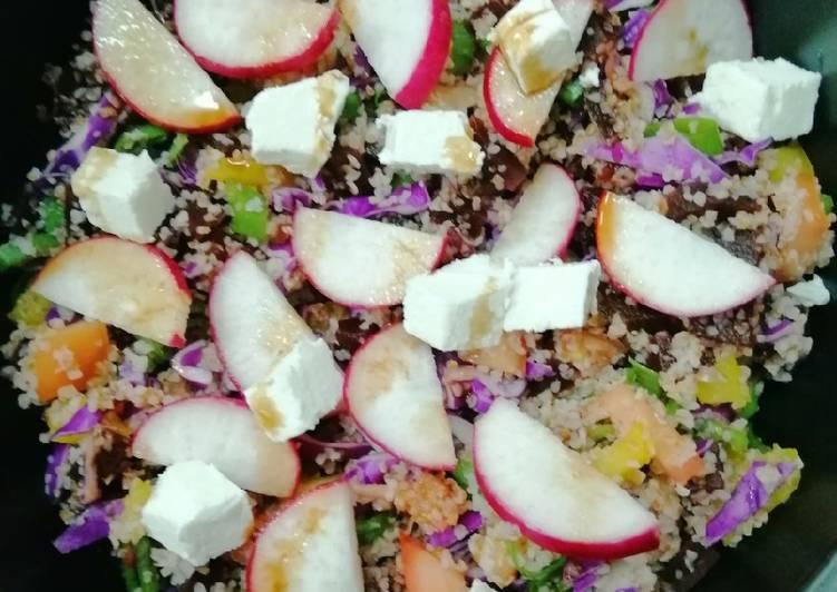 Recipe of Any-night-of-the-week Brown Bulgur Salata