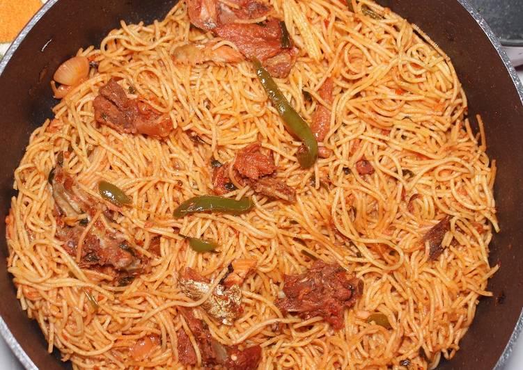 Recipe of Any-night-of-the-week Chicken Stir Fry Spaghetti