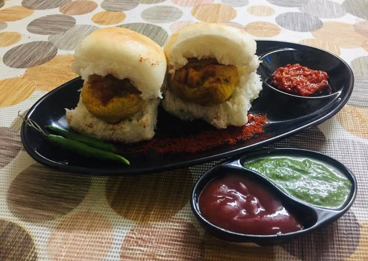 The Best Dinner Ideas Homemade Bombay vada pav
