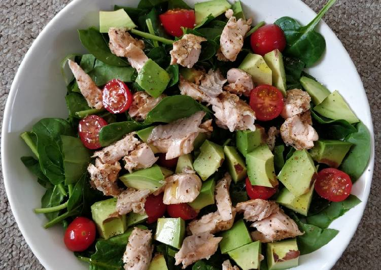 How to Make Award-winning Salmon salad
